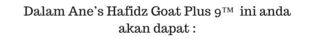 Dalam Ane's Hafidz Goat Plus 9™ ini anda akan dapat_ (1)